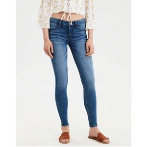 American Eagle Starburst Blue Ne(x)t Level Jegging